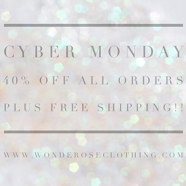 🌟 CYBER MONDAY 🌟 All day tomorrow shop our site for 40% off everything and free shipping on all orders! Give the gift of lounge pretty this holiday season or #treatyoself 😉 Our best deal ever!! #cybermonday #deals #madeinnyc #loungepretty #shopsmall