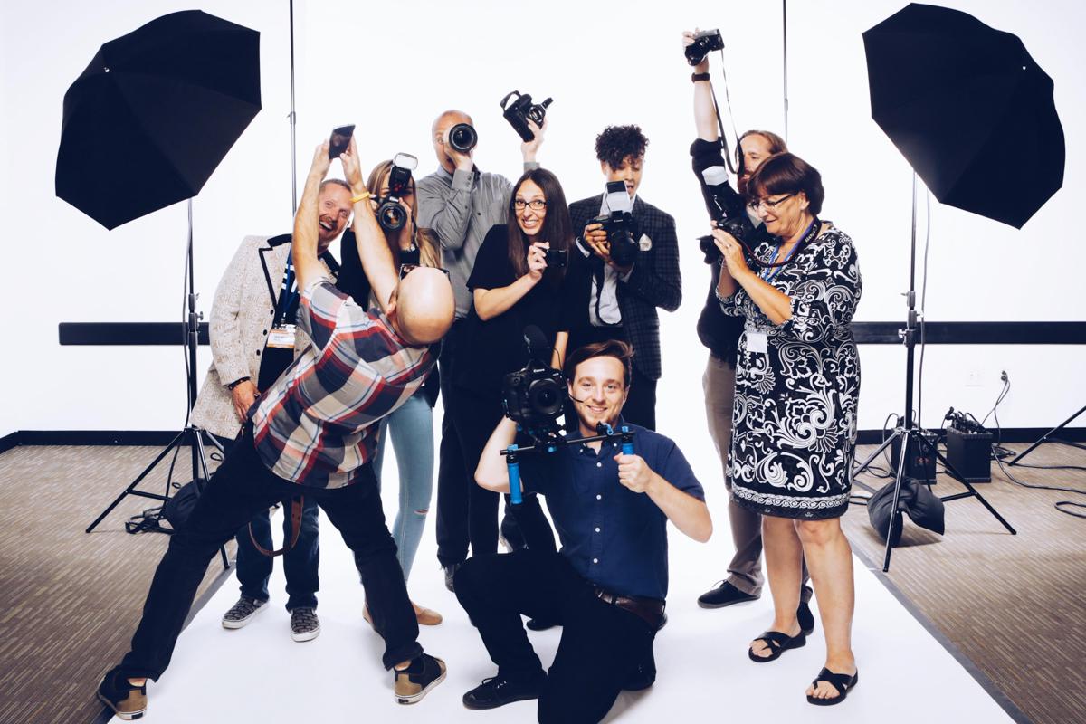 Photographers Will Mann, Christina Cobb, Dave Green, Diana Levine, Natasha Moustache, Brian Lauritsen, Gail Achin, Chris Valites, and filmmaker Mark Gilday Jr.