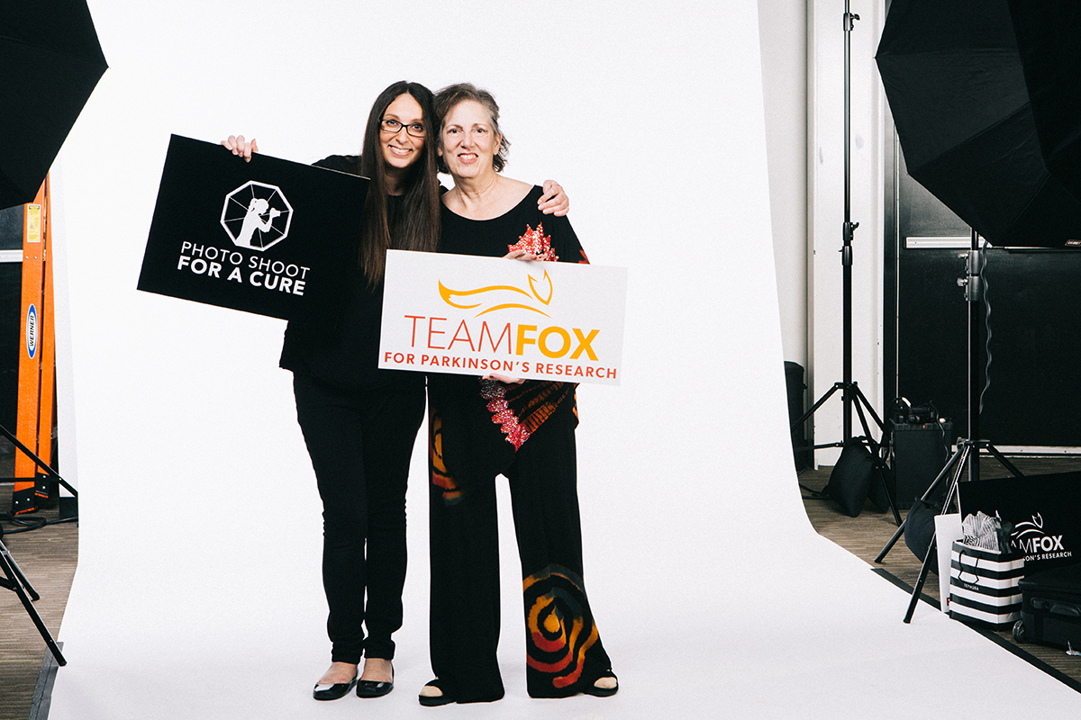 Host Diana Levine and her Mom, Cindy Bittker. Photo by Julie Lauritsen.