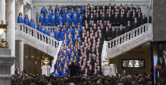 Dnews GovInaugurationMormon Tabernacle Choir LDS Temple Square