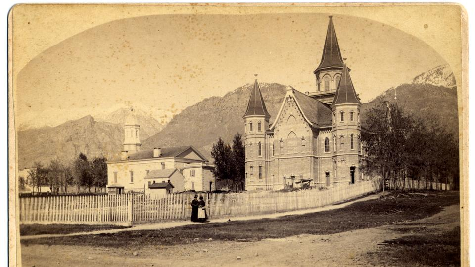 Old Provo Tabernacle LDS Temple