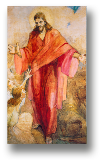 The Christus Temple Recommend Holder Latter Day Saint