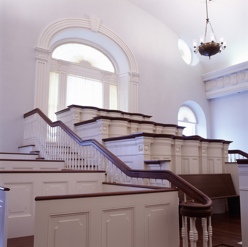 Nauvoo Temple assembly room Nauvoo Temple Interioir LDS art.jpg