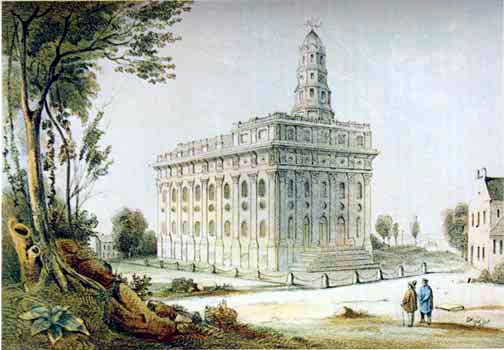Nauvoo Temple LDS Art Historic 2.jpg