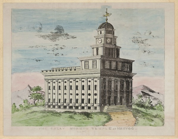 Nauvoo Temple LDS Art Historic 35.jpg