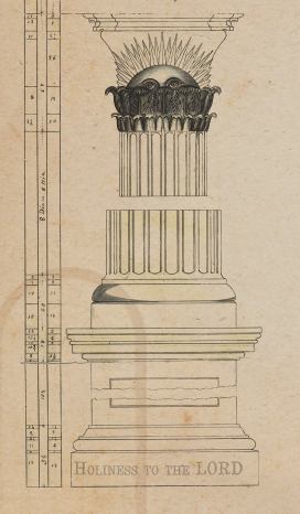 Nauvoo Temple LDS Art construction19.png