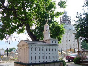 Nauvoo Temple LDS Art construction6.jpg