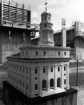 Nauvoo Temple LDS Art construction16.jpg
