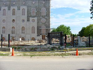 Nauvoo Temple LDS Art construction7.jpg