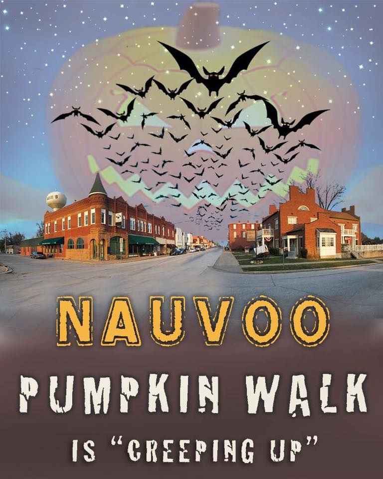 Nauvoo Pumpkin Walk Poster