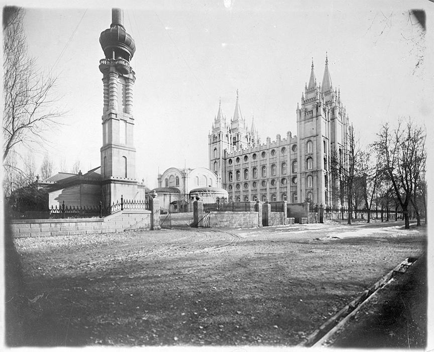 Salt Lake Temple - C. E. Johnson Collection