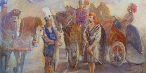 Minerva Teichert Paintings LDS art BYU35.jpg