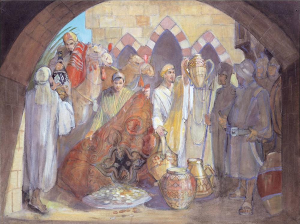 Minerva Teichert Paintings LDS art BYU45.png