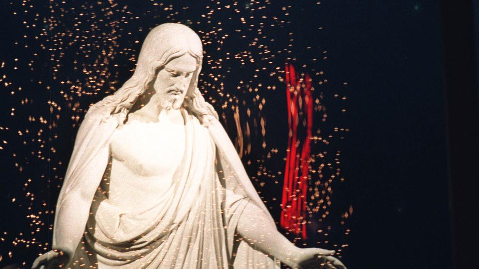 TEMPLE SQUARE LIGHTS CHRISTUS TS