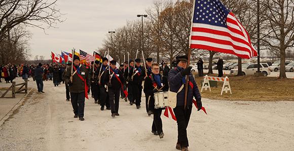 flags nauvoo exodus mormon Church nauvoo pageant