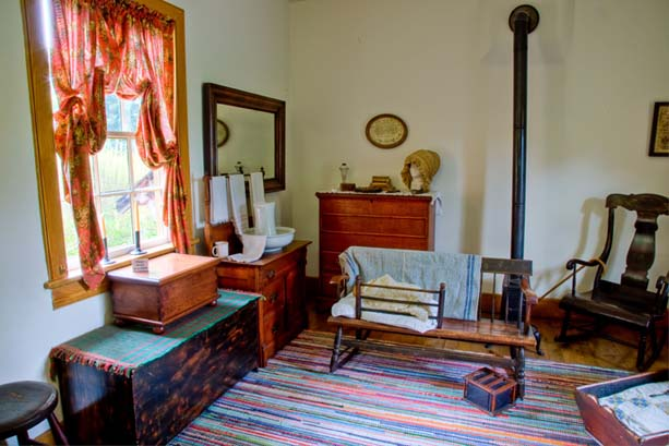 Brigham Young Nauvoo Home Living Room