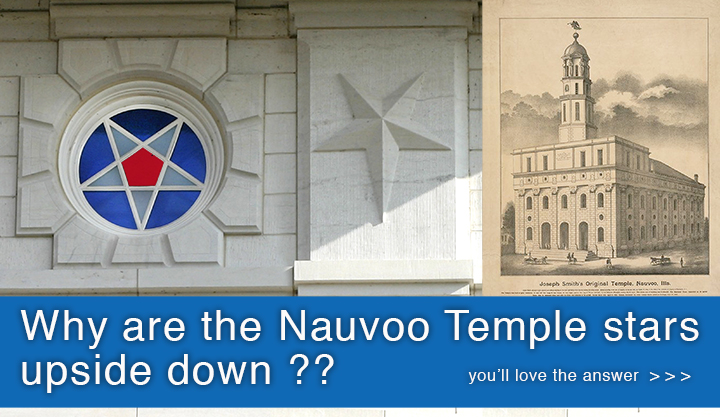 History of the Nauvoo Temple Inverted Star Windows —