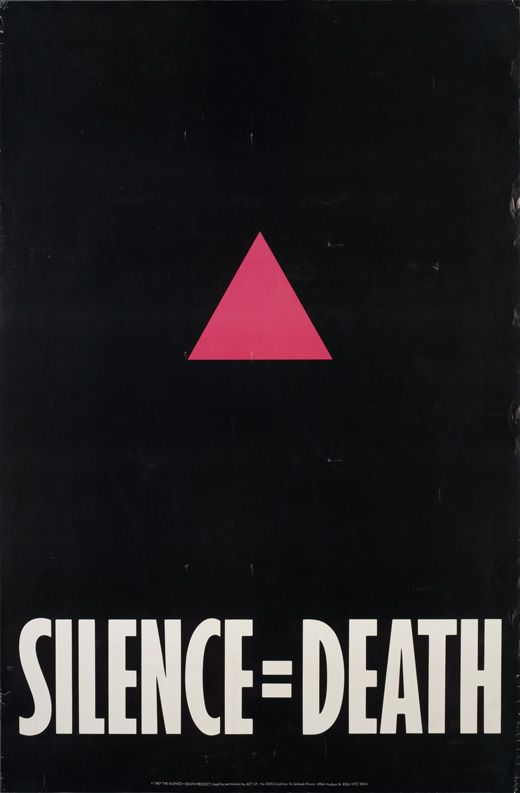 "ACT UP ""Silence=Death,"" 1987"