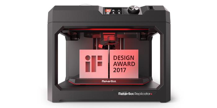 Replicator+ won a 2017 iF Design Award