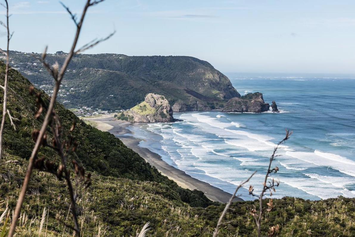 'Home is where the heart is' Piha, NZ