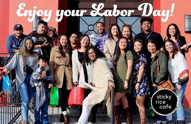 We hope you all get a break from your labor and have a wonderful day! We will close at 4:00 today to celebrate Labor Day! See you all tomorrow! 📸 @basedchino