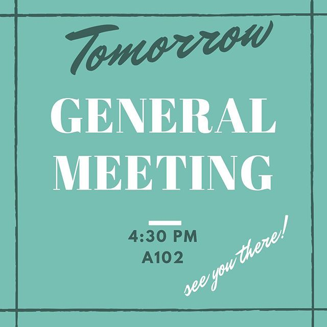 Don't forget GM#2 tomorrow !! we have a special guest tomorrow. See you there at 4:30✨