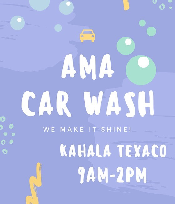 CAR WASH TOMORROW !! tell your friends and family to come support ✨❤️