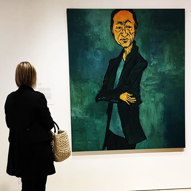 Perfect day for the art gallery in Sydney!!! #archibald #sydney #tonycosta #painting #worknotwork