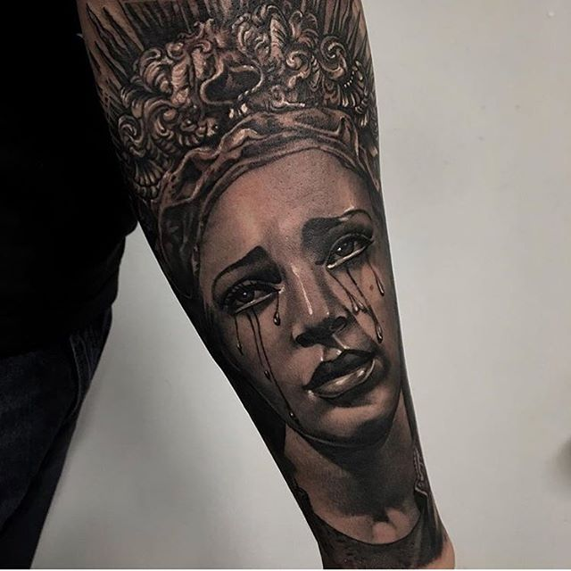 By Marco Vergel (@marco_vergel) #miami #tattoo #ochoplacas