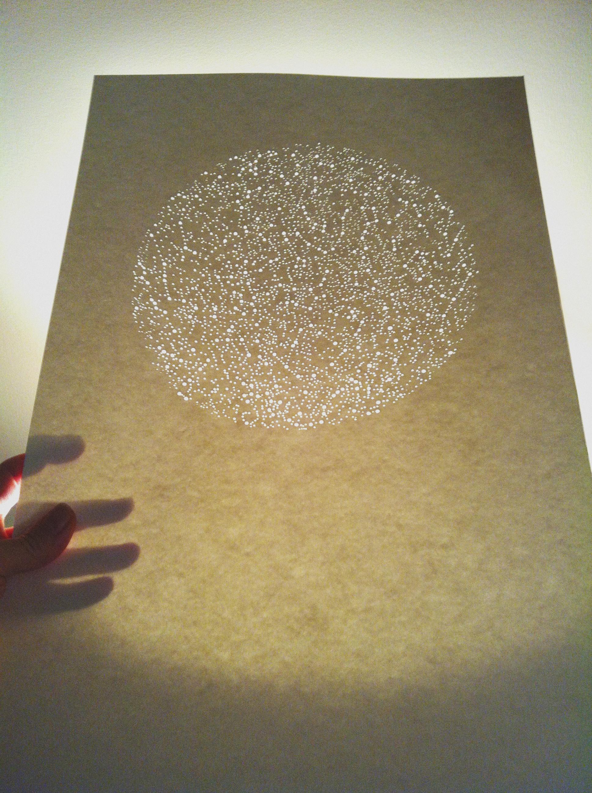 Ashley Dawn Logan | Paper Art Star Map