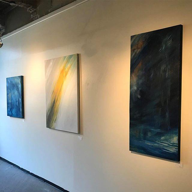 🙃 #painting #art #cincinnati #abstractart #oiloncanvas