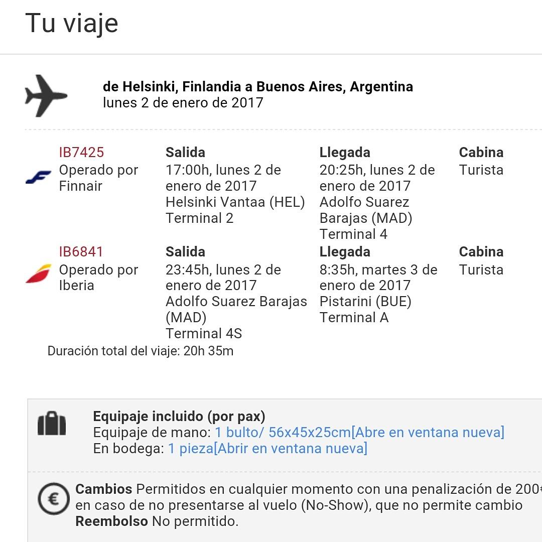 Köpte biljetter på spanska, rätt så stolt över mig, hehe!