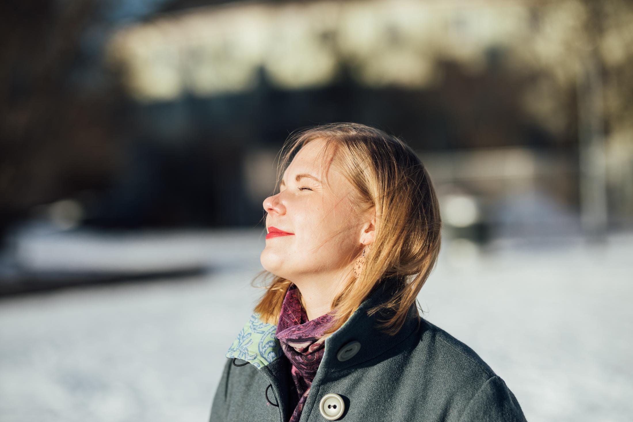 Så här zen ser jag sällan ut, haha. Foto: Niklas Sandström.