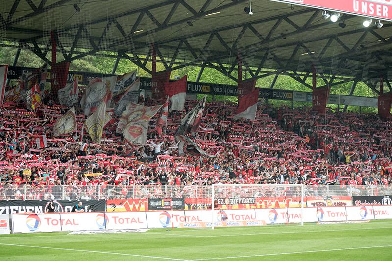 Fans på FC Unions match.
