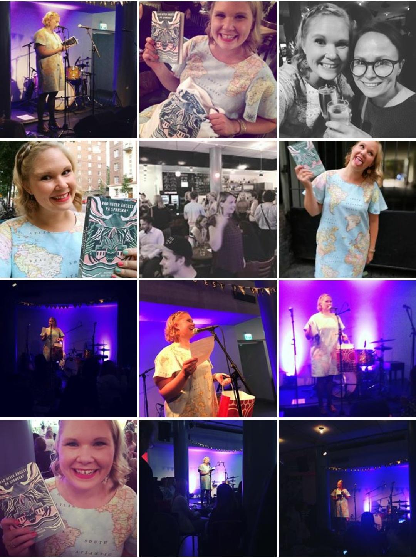 Foton från min releasefest som laddats upp på Instagram. <3