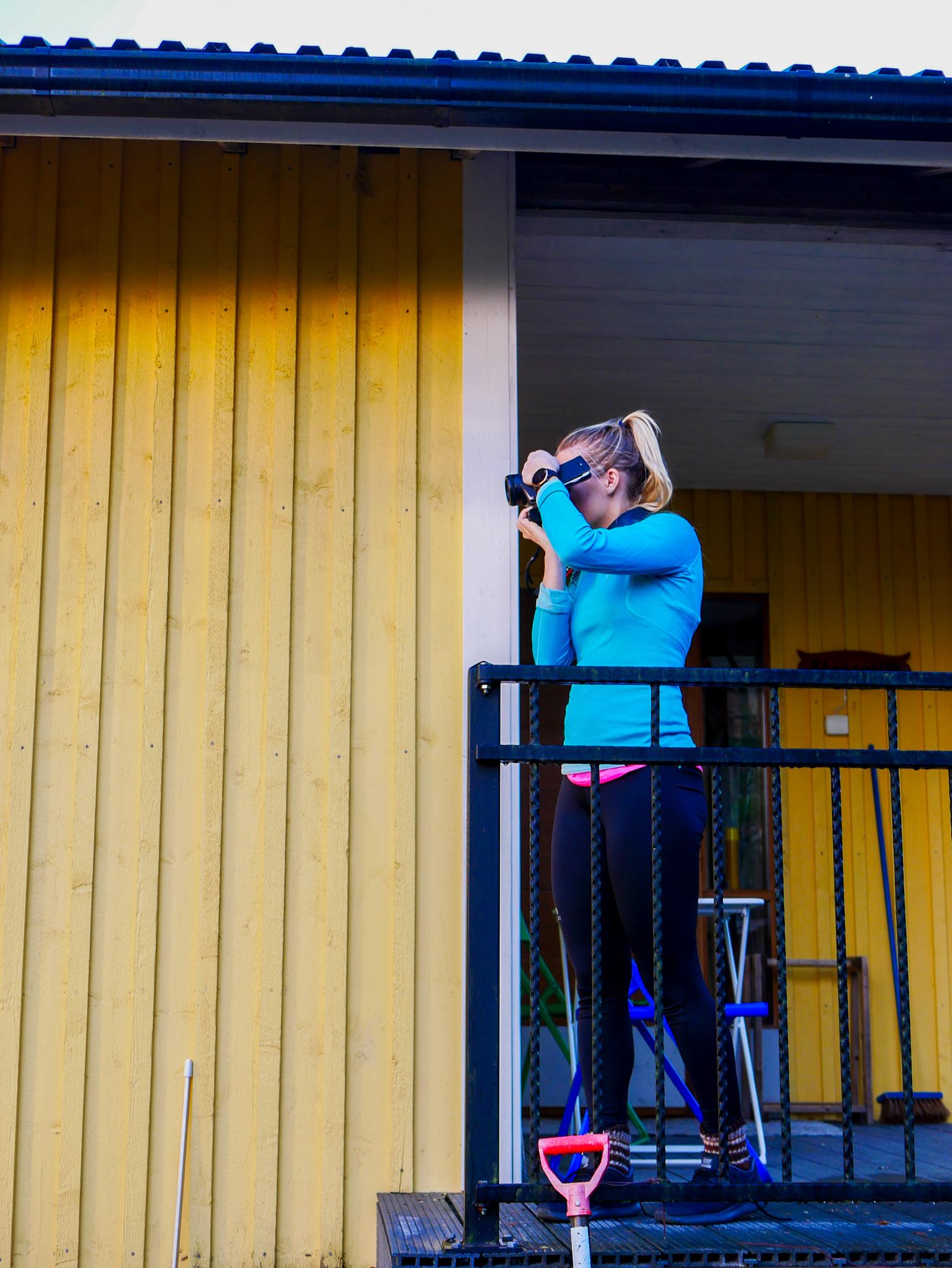 Jag ser COrinne som fotograf, kock, yogainstruktör och bloggare. Sjukt bra på allt dessutom.