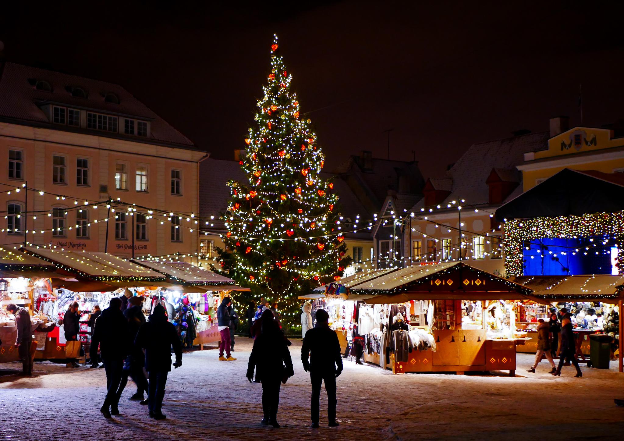 Julmarknaden i Gamla Stan. Stämningsfull men ändå en liten besvikelse, jag hade väntat mig mer.