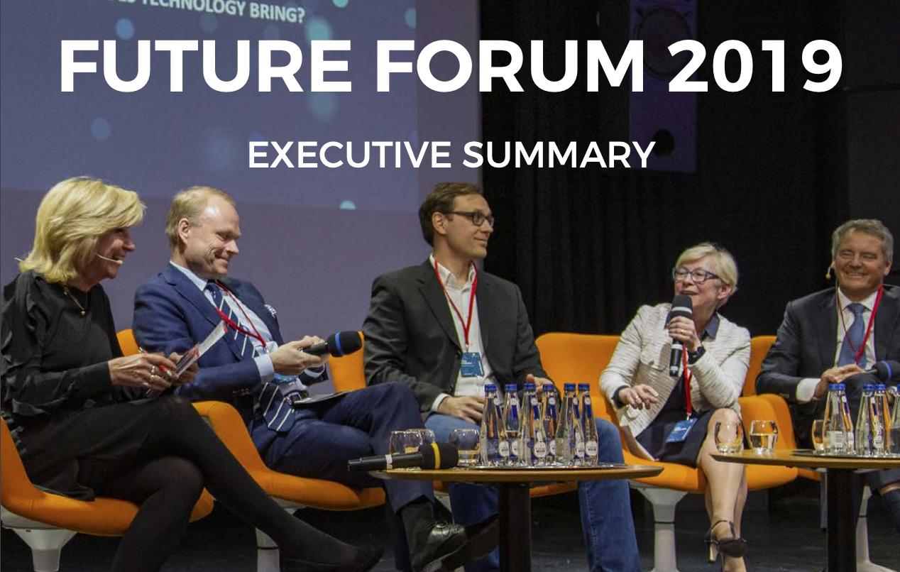 - Seminarierapporter från Hanaholmens Future Forum 2019 och  Business Forum 2018.