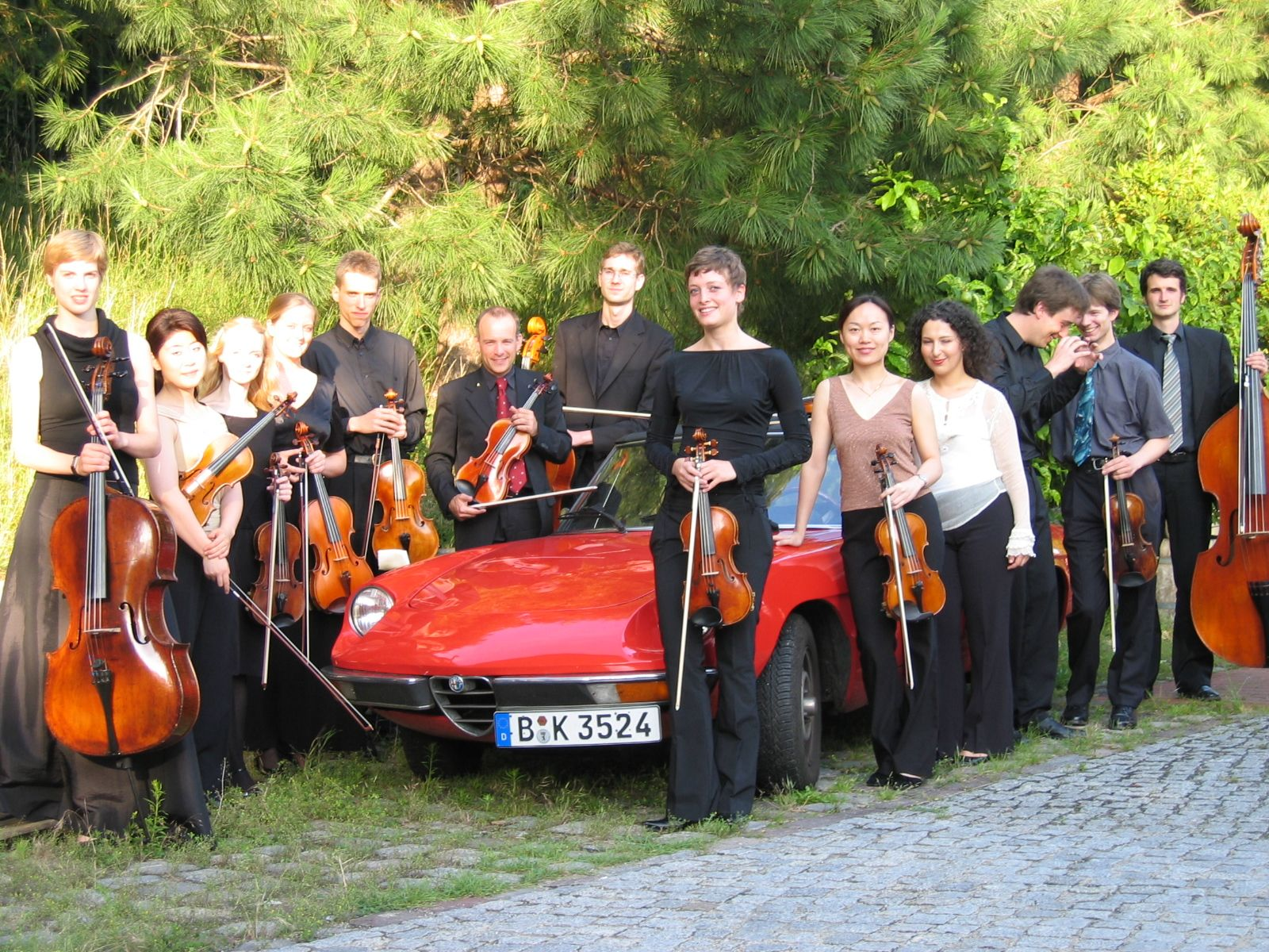 DSO Academy with 1978 Alfa Spider