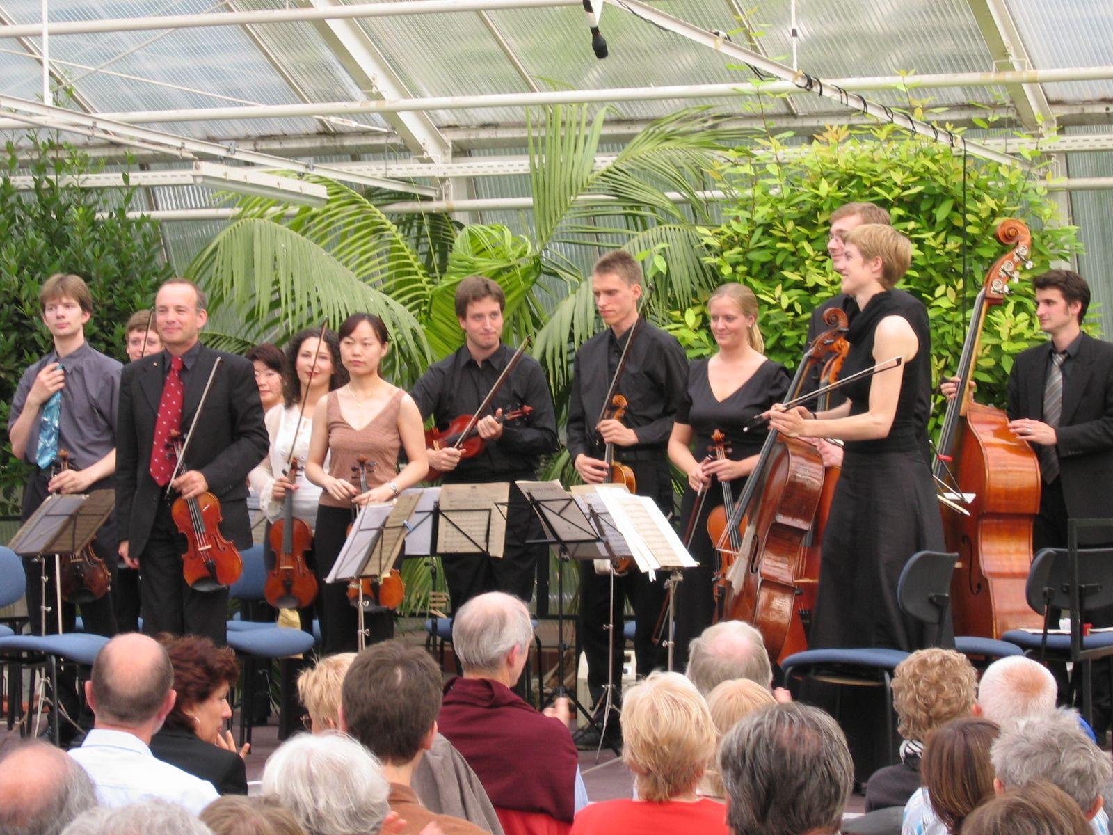 Academy concert in the Berlin Botanical Garden