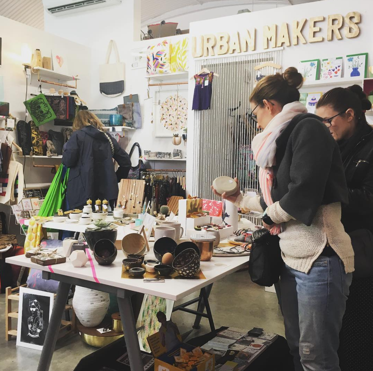 Urban Makers Pop-Up continues through the 7th of May at Fount London . Be sure to visit this fab curation of London designer - makers!