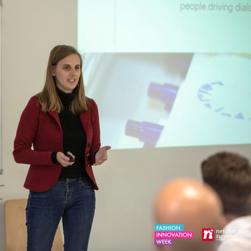 Presentation @Digital Creativity Challenge, Fashion Innovation Week – Lugano, April 5th 2019