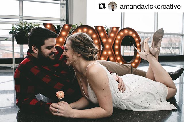 "Checkout our 36"" XOXO in this styled shoot! DM us to check availability for your special day!  #Repost @amandavickcreative with @get_repost ・・・ Still swooning from this past weekends Valentines Day engagement themed styled shoot I put together! Everyone seriously crushed it and we put everything together sooo so fast, I couldn't be more proud of the teamwork. I can't even put to words how amazing it was to watch everyone do their magic. Community over competition always, my friends. ⁣ ⁣ 💘⁣ ⁣ Our AMAZING vendors :⁣ PHOTOGRAPHER / @amandavickcreative⁣ DAY OF COORDINATOR / @elizabethjordanevents⁣ STATIONERY / @coquipaperie⁣ CAKE / @cakeladydesigns⁣ VENUE / @venue42⁣ BREWERY / @mkebrewco⁣ MODEL / @snickiesnax⁣ MODEL / @dsmulcahy⁣ HAIR / @locksandlasheswi⁣ MAKEUP / @katetroxellmua⁣ SET STYLIST / @laurenhenesy⁣ FLORAL / @thepinkpeonyllc⁣ COTTON CANDY / @sugarspunmuk⁣ MARQUEE LETTERS / @ezpzmarquee"