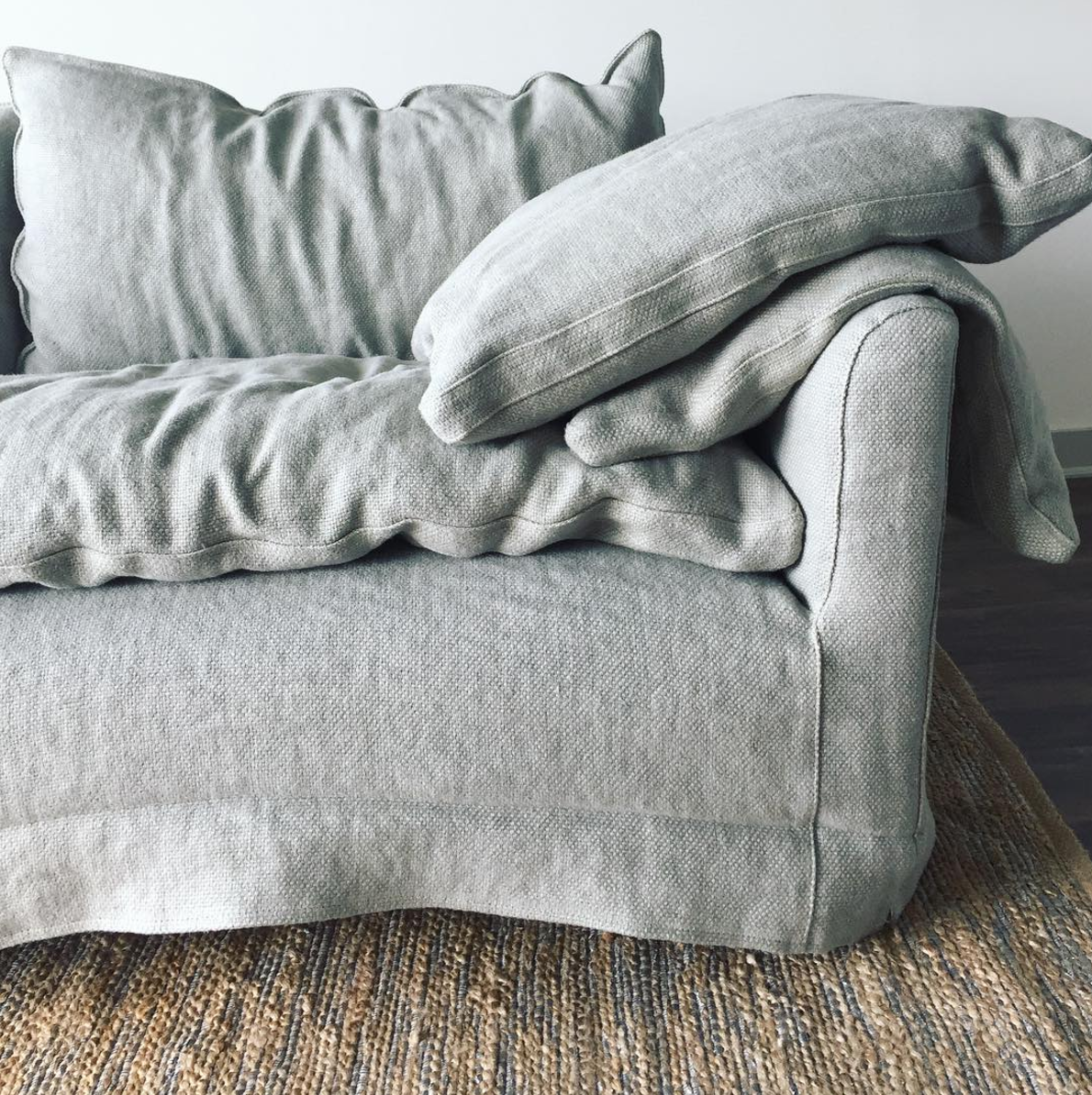 The Absolute Perfection Of Pillows Cisco Brothers Donato Sofa