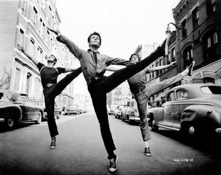 West Side Story, choreographed by Jerome Robbins.