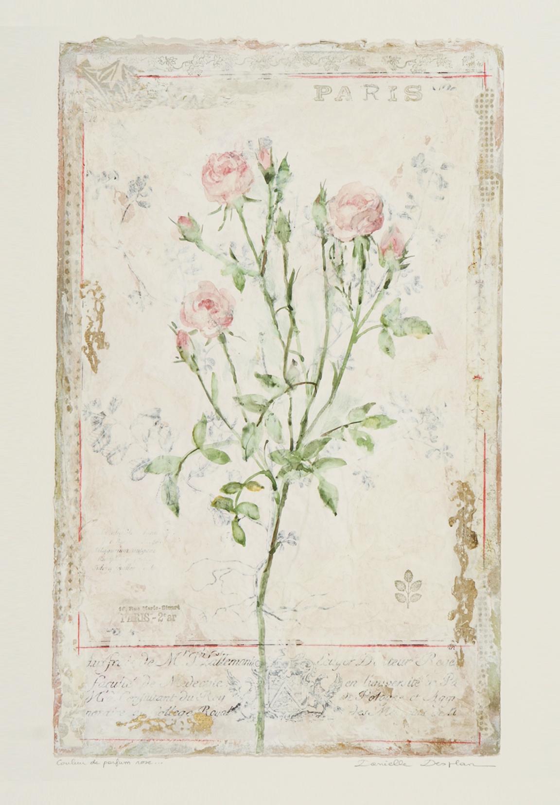 """Couleur de Parfum Rose  19""""x12"""""""