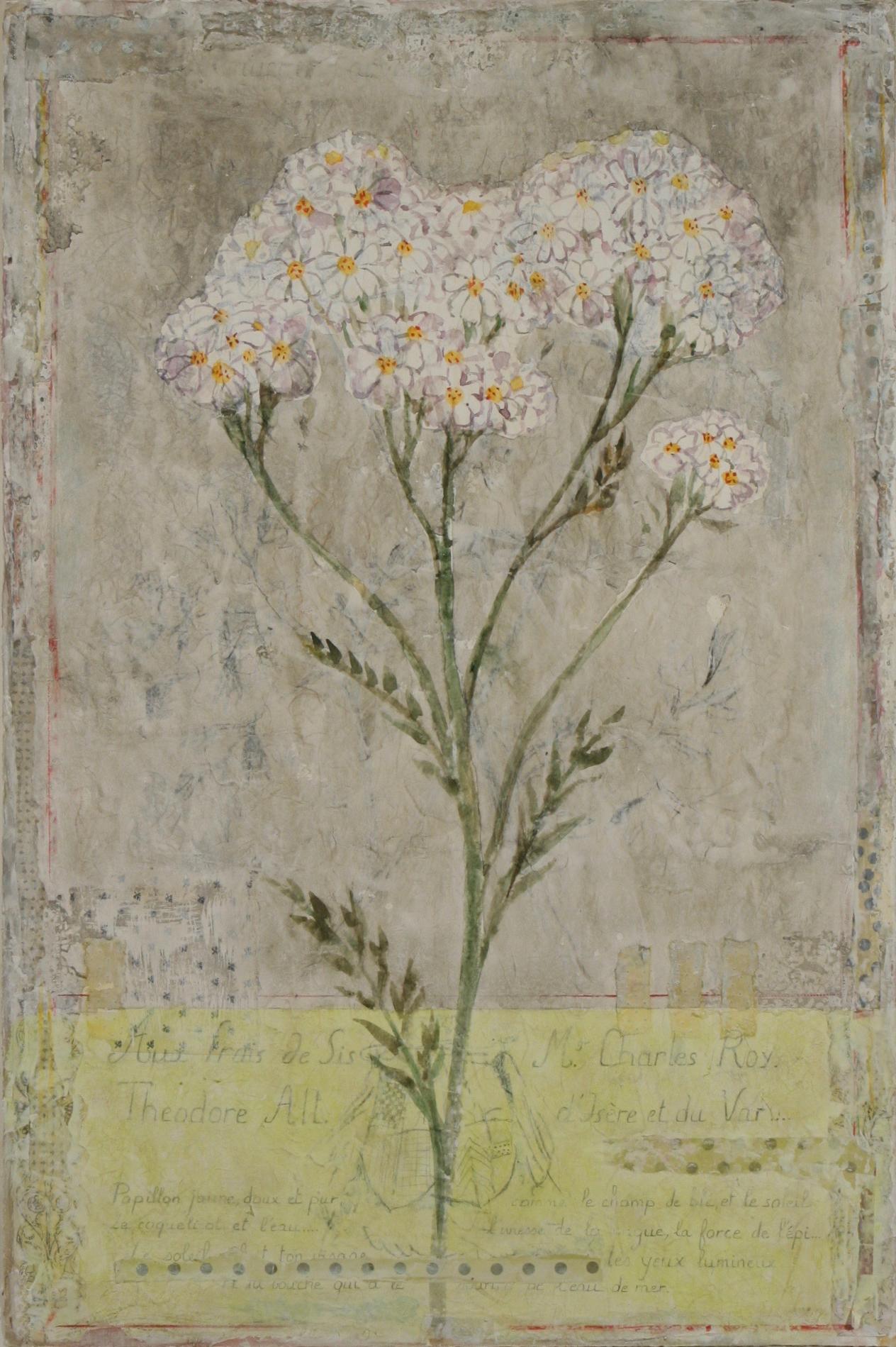 """Mille Fleurs Couleur  36"""" x 24"""""""