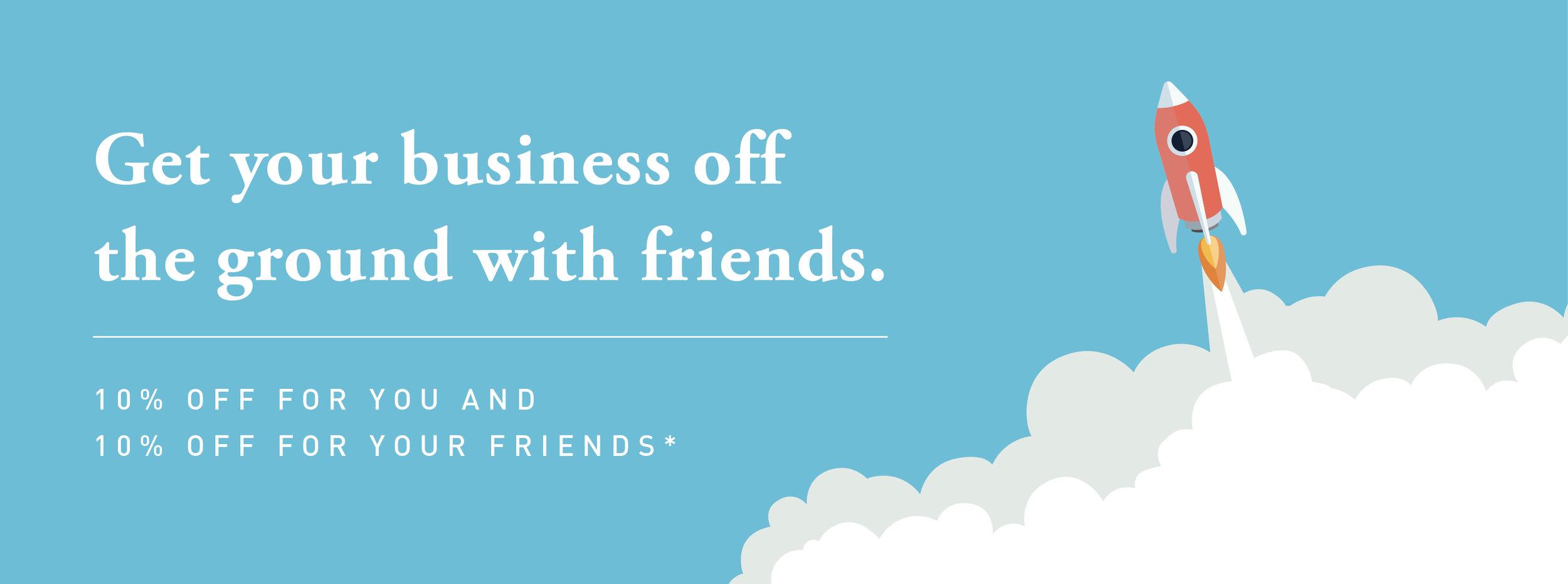 rocket clouds vector design business banner
