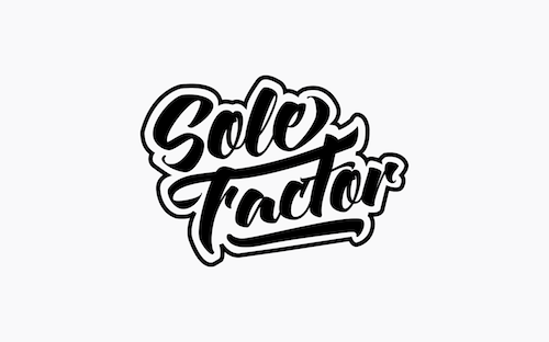 sole factor logo design graphic designer maza mazaaa