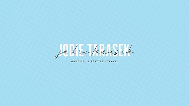 YouTube cover image design for @jodietarasek